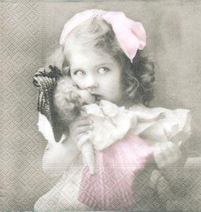 Flicka med docka    sa4030