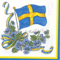 Svensk motiv 2 olika motiv
