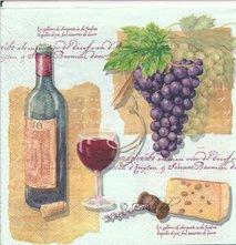 Vin ost och druvor