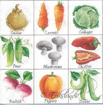 Styckvis grönsaker