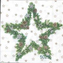Julstjärna igrönt med pynt