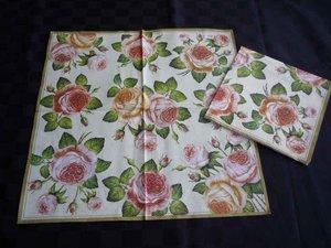 Gulbeiga rosor ( gul botten ) 8005